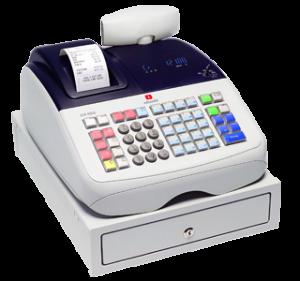 Caja Registradora Olivetti ECR6800