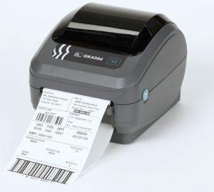 Impresora Etiquetas Zebra GK420d