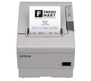 Impresora Tickets Térmica Epson TM-T88V Blanca