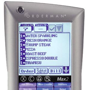 Comandero Orderman Max2 Plus Pantalla