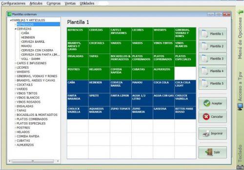 Modulo Software TPV para Comandero PDA