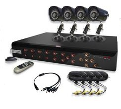 Pack 4 Camaras Seguridad Autoinstalable