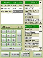 Módulo Software TPV para Comandero PDA – 2