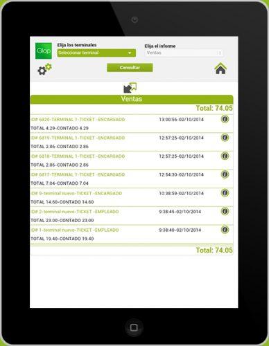 Módulo Software TPV Consulta Ventas Online 2