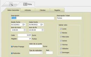 Módulo Software TPV Fidelización de Clientes
