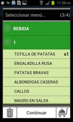 Modulo Software TPV Telecomanda para Android 6
