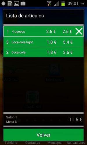 Modulo Software TPV Telecomanda para Android 4