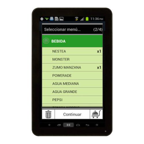 Comandero Tablet 7 Pulgadas Con Software Incluido 2
