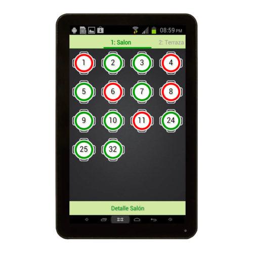Comandero Tablet 7 Pulgadas Con Software Incluido 3