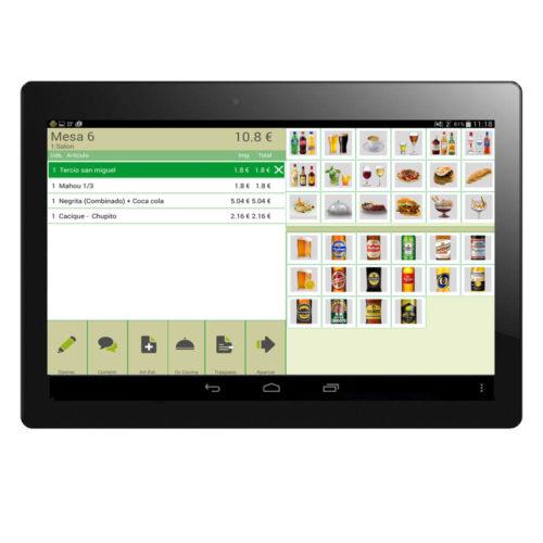 Comandero Tablet 7 Pulgadas Con Software Incluido 4