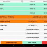 Modulo Software TPV Pantalla Cocina