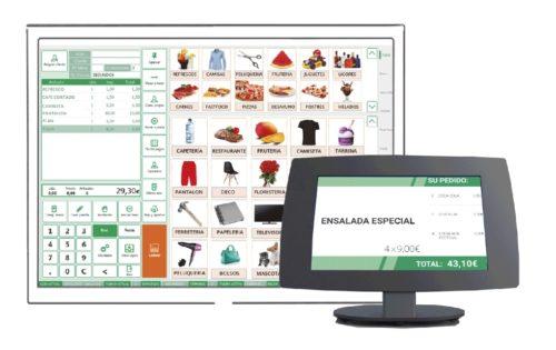 Modulo Software TPV Pantalla Informacion Cliente