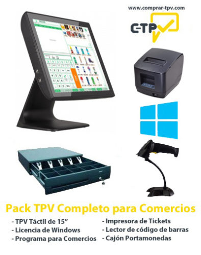Pack TPV Comercios