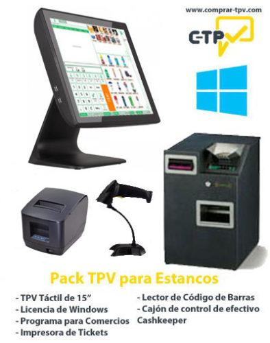 Pack TPV para Estancos con Cashkeeper