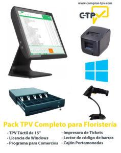 Pack TPV para Floristerias