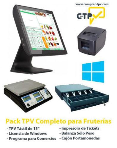 Pack TPV para Fruterias