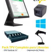 Pack TPV para Librerias y Papelerias