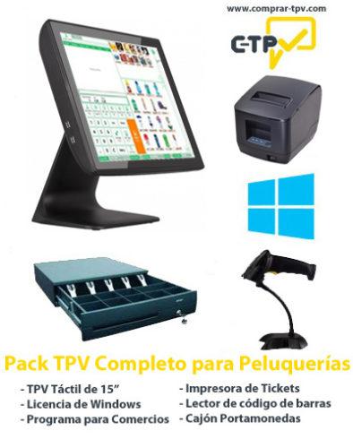 Pack TPV para Peluquerias