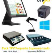 Pack TPV para Pequeño Supermercado