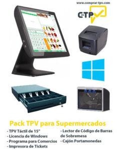 Pack TPV para Supermercados