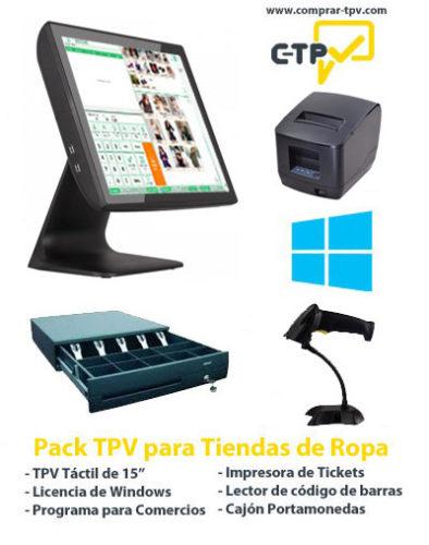 Pack TPV Tiendas Tallas y Colores