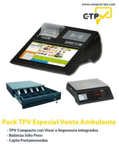Pack TPV para Venta Ambulante