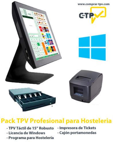 Pack TPV Profesional para Hosteleria