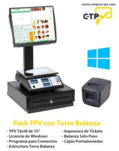 Pack TPV con Torre Balanza