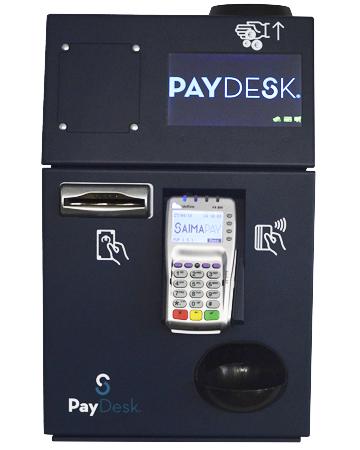 Cajon inteligente seguro con datafono incorporado Paydesk