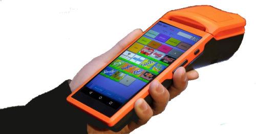 TPV Tactil de mano con Impresora Incorporada